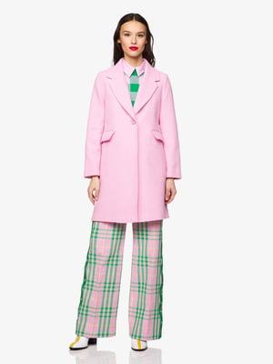 Пальто рожеве | 5371618