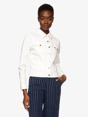 Куртка біла джинсова | 5371623