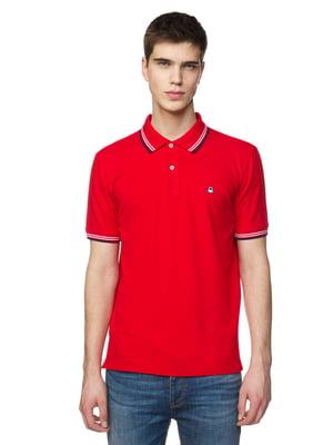 Футболка-поло червона | 5371717