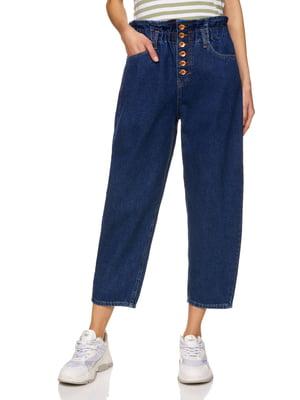 Кюлоты синие джинсовые | 5371834