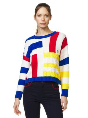 Джемпер разноцветный   5371593