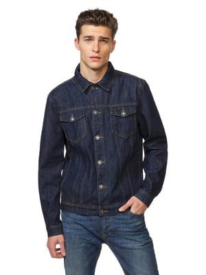 Куртка синяя джинсовая | 5371600