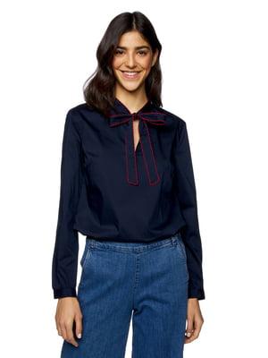 Блуза темно-синяя | 5371837