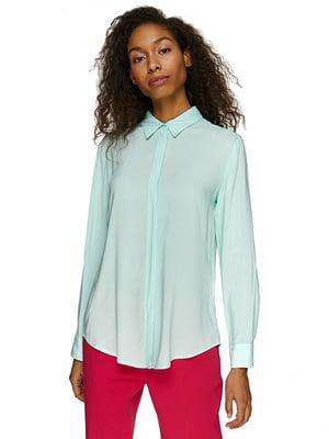 Рубашка бирюзовая | 5371852