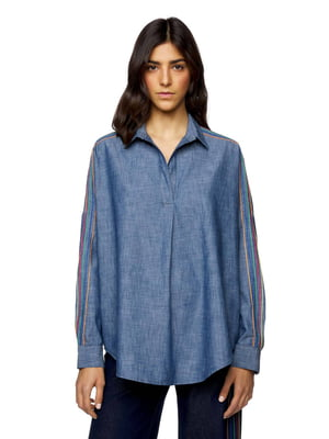 Рубашка синяя | 5371858