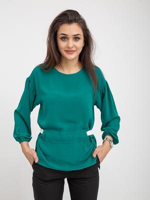 Блуза зеленая | 5374647