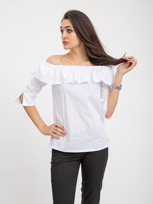 Блуза белая   5374655