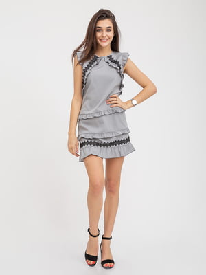 Сарафан серый | 5374733