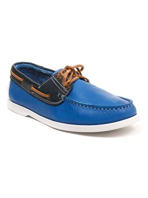 Топсайдеры синие | 5374789