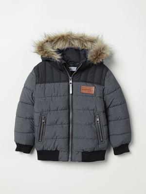Куртка сіра | 5375287