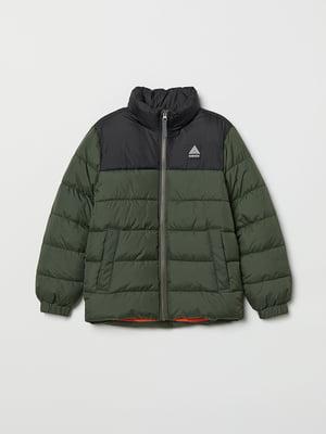 Куртка кольору хакі | 5375288