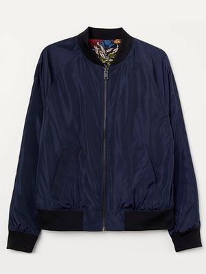 Куртка темно-синя | 5375369