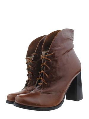 Ботильоны коричневые | 5286206
