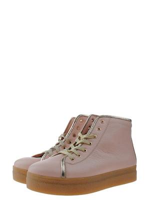 Ботинки розовые | 5339280