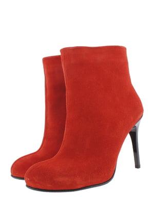 Ботинки красные | 5342977