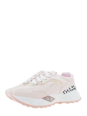 Кроссовки розовые | 5367660
