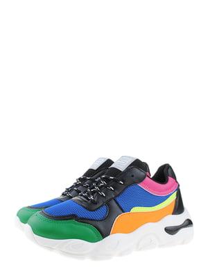 Кроссовки разноцветные | 5372501