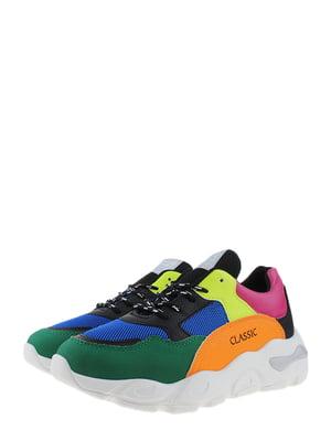 Кроссовки разноцветные | 5372504