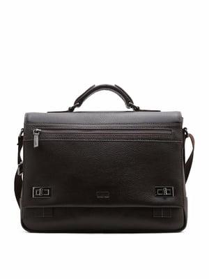 Сумка-портфель коричневая   5374506