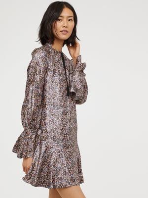 Платье комбинированной расцветки | 5375774