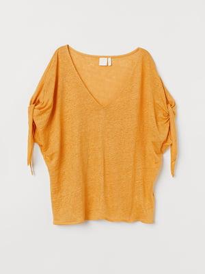 Блуза горчичного цвета | 5375965