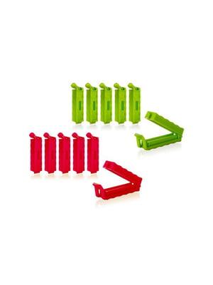 Набор клипс для пакетов (6 шт., 6,5 см) | 5374832