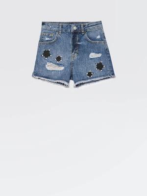 Шорти сині джинсові | 5371499