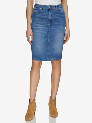 Спідниця синя джинсова   5371790
