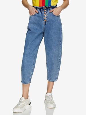 Кюлоты голубые джинсовые | 5371835