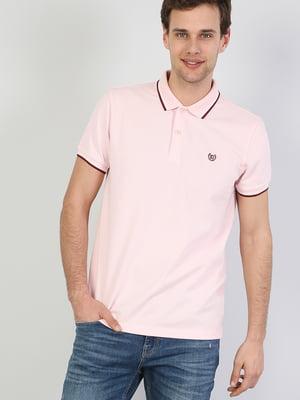 Футболка-поло розовая | 5376399
