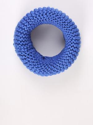 Шарф-снуд синій | 5376462