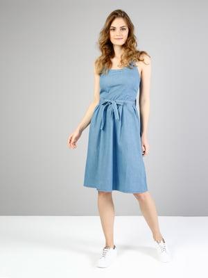 Платье синее | 5376895