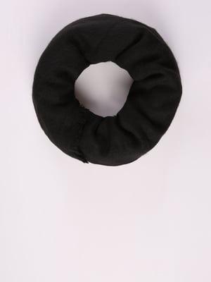 Шарф-снуд чорний | 5376913