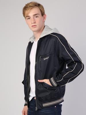 Куртка синяя   5377025