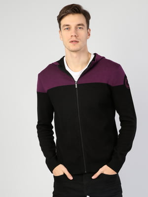 Кардиган черно-фиолетовый | 5377061