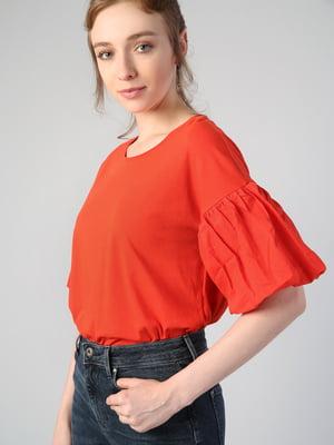 Блуза красная | 5377270