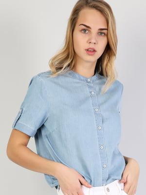 Рубашка голубая   5377282
