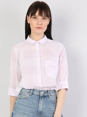 Рубашка лилового цвета | 5377293