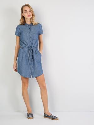 Платье синее | 5377294