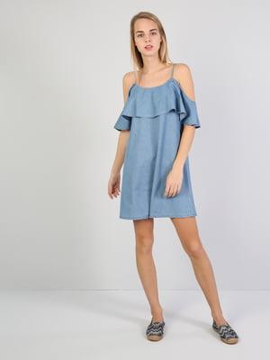 Платье синее | 5377296