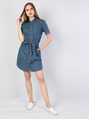 Платье синее | 5377452