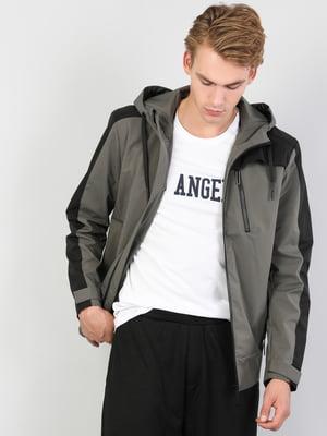 Куртка цвета хаки   5377587