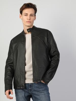 Куртка полиуретановая коричневая   5377589