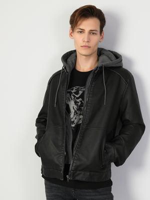 Куртка полиуретановая черная   5377614