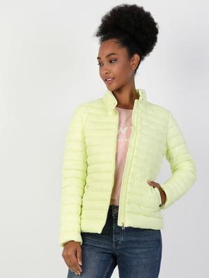 Куртка лимонного кольору | 5377627