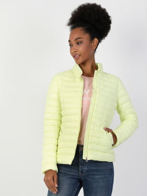 Куртка лимонного цвета | 5377627