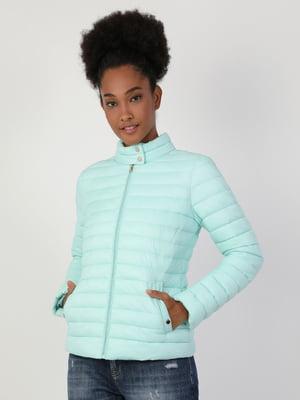 Куртка мятного цвета | 5377628