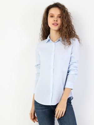 Рубашка голубая   5377812