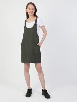 Платье цвета хаки | 5377836