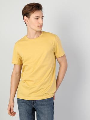 Футболка желтая | 5377883